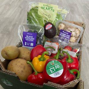 Waste not veg box